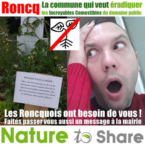 Les Roncquois ont besoin de vous ! | Nature to Share | Scoop.it