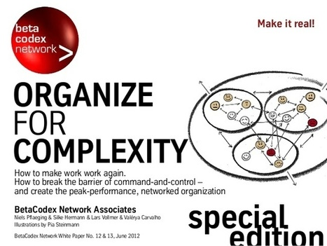 Organize for complexity | Social Network Analysis #sna | Scoop.it