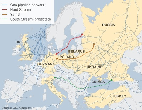 Russia drops gas pipeline plan | Regional Geography | Scoop.it