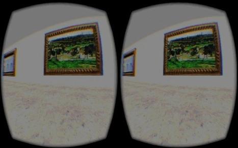 IL Y A 1 AN...Avec les lunettes Oculus Rift, un musée virtuel propose de découvrir des œuvres d'art perdues | Clic France | Scoop.it