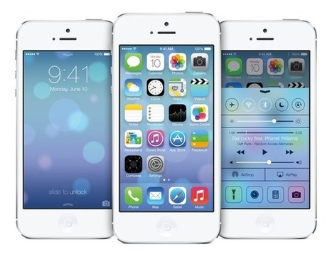 iOS 7 For iPhone, iPad, iPod touch - Compatibility Chart | Redmond Pie | Gadgets - Hightech | Scoop.it