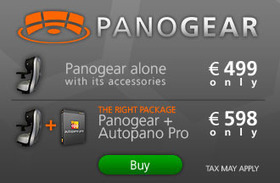 Panogear: the motorized panoramic head | Photography Gear News | Scoop.it