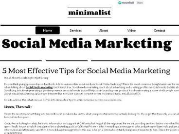Social Media Marketing | socialmediass | Scoop.it