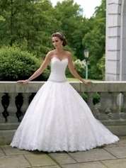 Ball Gown Wedding Dresses Page 2 - theLuckyBridal.com | Knee Length Wedding Dresses | Scoop.it