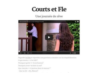 Courts et FLE   Films en Francais   Scoop.it