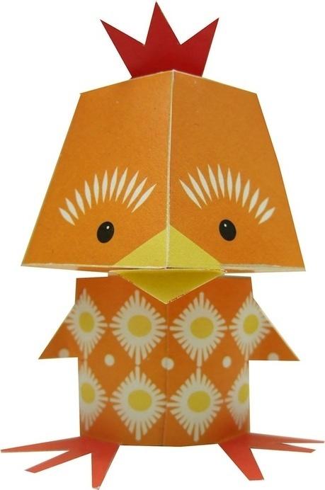 Mibo's Adorable Printable Paper Animals - My Modern Metropolis | Le It e Amo ✪ | Scoop.it