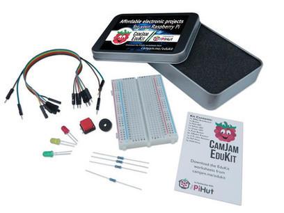 The CamJam EduKit – basic electronics for £5! | Raspberry Pi | Raspberry Pi | Scoop.it