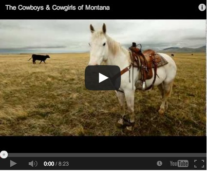 The Cowboys & Cowgirls of Montana | Horse And Rider World | Scoop.it