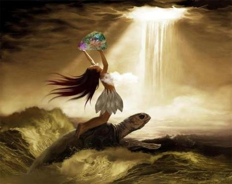 La diosa Nüwa arregla el cielo (Nüwa Bu Tian 女娲补天)   Mitologias del Mundo Antiguo   Scoop.it