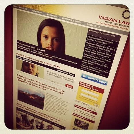 #VAWA Indian Law Resource Center - #idlenomore | IDLE NO MORE WISCONSIN | Scoop.it