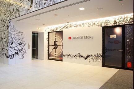Google : un concept store pour les produits dérivés des YouTubeurs | Made In Retail : Commerce digital des réseaux de la mode | Scoop.it