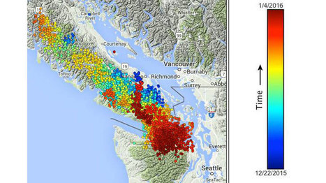 Thousands of Earthquakes Recorded in Puget Sound in Just Two Weeks | Geography for All! | Scoop.it