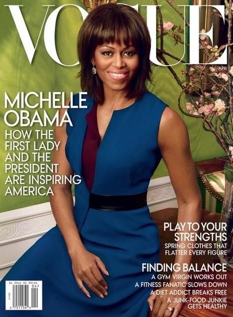 Michelle Obama dans Vogue Avril | Mode et femme | Scoop.it