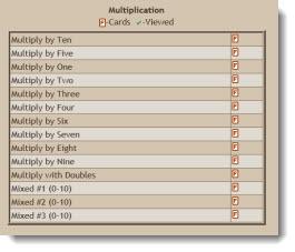Math Fact Cafe Multiplication Facts - Educational Math Activities