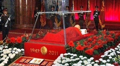 Why do communist/authoritarian countries often display dead leaders embalmed in glass coffins? | Dental Insurance | Scoop.it