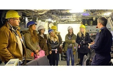 Plymouth media students get glimpse behind walls of dockyard - This is Plymouth | The Navy Campaign Daily | Scoop.it