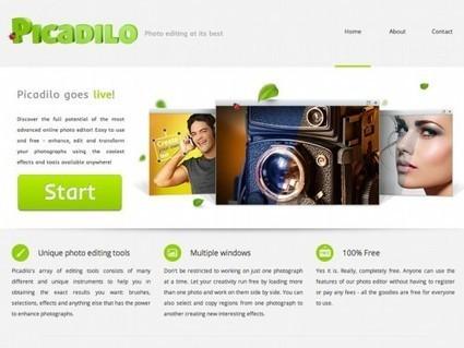 Picadilo, un site gratuit de retouche en ligne | Autour du Web | Outils pédagogiques et utilitaires | Scoop.it