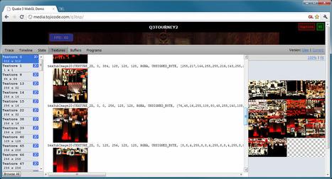 WebGL Inspector : Débuggez vos animations WebGL | Node.js | Scoop.it