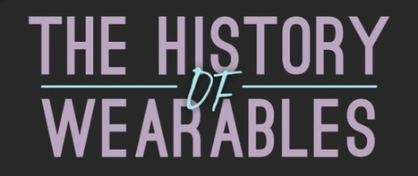 The History of Wearables (Infographic) | Cool techie stuff | Scoop.it