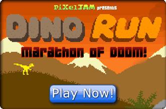 Dino Run - Marathon of Doom | Online Web Games | Scoop.it