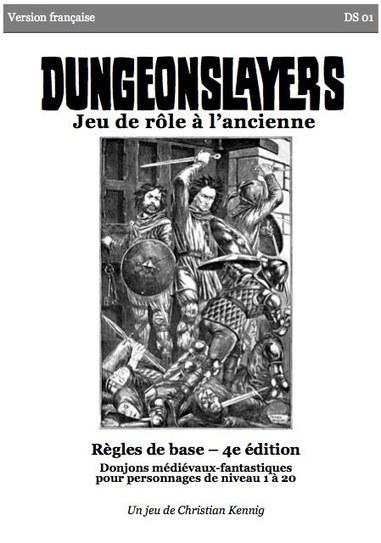 La version 1.0 de Dungeonslayers en français   Jeux de Rôle   Scoop.it