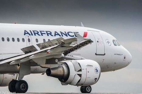 An Air France Airbus A318 landing in Paris | Aviation & Airliners | Scoop.it
