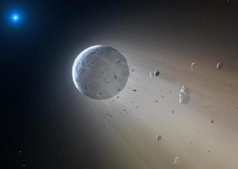 Death star: White dwarf is vaporizing its planets. | STEM Connections | Scoop.it