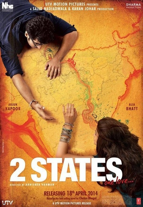 First Look: 2 States 2014 Upcoming Movie - Arjun Kapoor, Alia Bhatt | Bollywood Movies, Videos, Photos, Events | Scoop.it