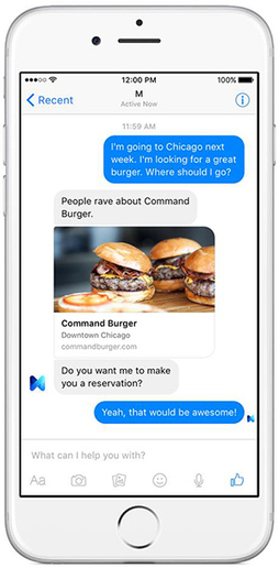 Facebook's Experimental Answer to Siri | MIT Technology Review | e-commerce & social media | Scoop.it
