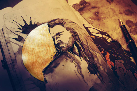 Fantastic 'The Hobbit' Artwork Featuring Benedict Cumberbatch's Smaug, Richard Armitage's Thorin & More | ADDICTED TO BEN | Scoop.it