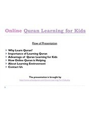 Quran Learning For Kids.pptx | Is Smoking a Cool Stuff | What Quran Learning for kids says | Scoop.it