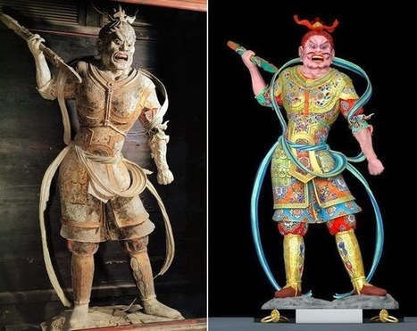 The Archaeology News Network: Tokyo team recreates original colours of Nara's 'hidden' statue using CG | The Related Researches & News of Dr John Ward | Scoop.it