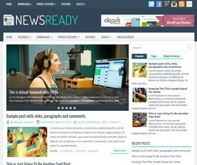 NewsReady Blogger Template | Blogger Templates | Scoop.it