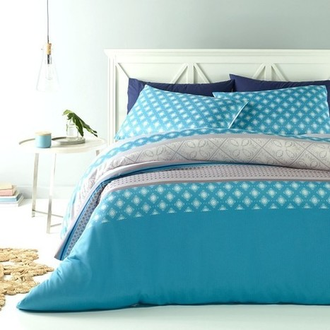 Etta Quilt Cover Set by Big Sleep - Manchester House | Soft Furnishings | Scoop.it