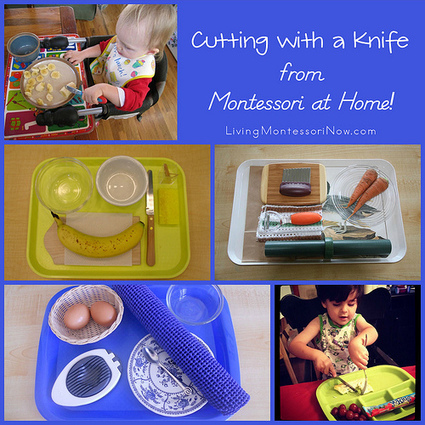 Montessori Monday – Cutting with a Knife from Montessori at Home! | Montessori Inspired | Scoop.it