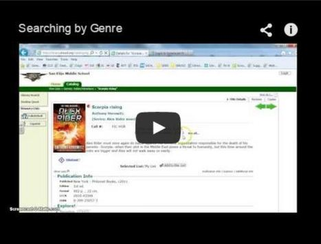 Fiction Genres - Google Slides | Creativity in the School Library | Scoop.it