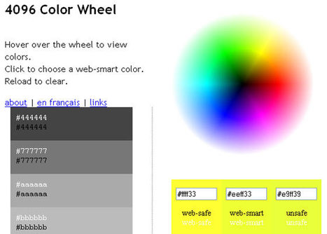 Effective Color Palette and Color Scheme Generators | Tools | instantShift | Basics and principles for a good  Web Design | Scoop.it
