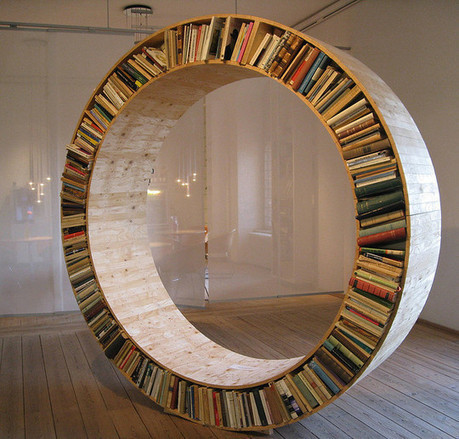 20 Most Creative And Unusual Bookshelf Designs | Free and Useful Online Resources for Designers and Developers | Creativity, Design & Adv | Scoop.it