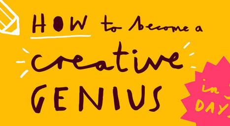 Become a creative genius in 5 days infographic – Snagit Guide | Snagit | Scoop.it