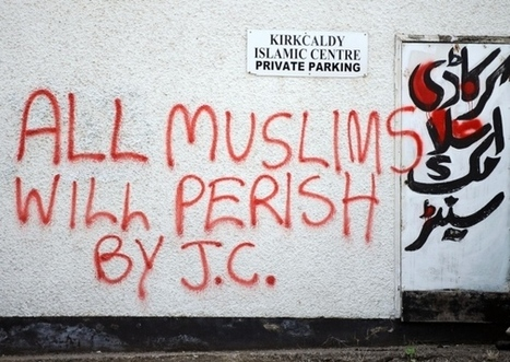 UK Mosque targeted with anti-Muslim graffiti for Ramadan, Everything is spelled correctly, so, probably, it wasn't Muslims doing it to themselves for attention. | EDL | Scoop.it