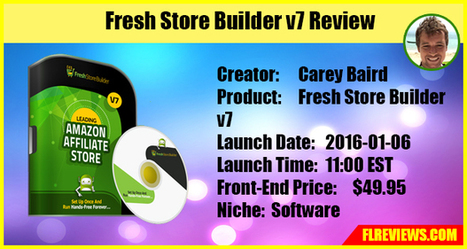 Fresh Store Builder v7 Review - Frank Luu Reviews | Product Launch Review | Scoop.it
