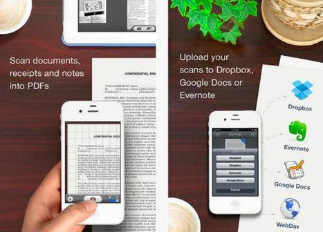 Un scanner de calidad en tu iPhone con la app Scanner Pro | Aplicaciones móviles: Android, IOS y otros.... | Scoop.it