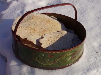 Recette de galettes nordiques aux céréales, pain sans levain au lactosérum (Norvège)   Petits déjeuners et pains de la rue, dans le monde   Scoop.it