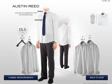 Virtual fitting room : amazing shopping experience try it #AustinReed | Digital Love | Scoop.it