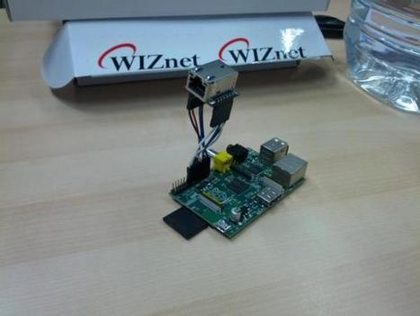 Twitter / 4jochen: WIZ820io attached to raspberry ...   Raspberry Pi   Scoop.it