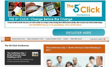RetailNet Group's The 5th Click Conference | Change Before the Change | Featured Research - RetailNet Group | Scoop.it