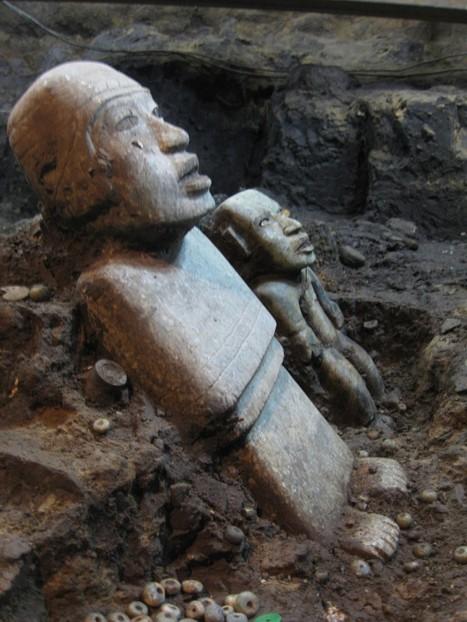 Splendides découvertes à Teotihuacan, dans le tunnel sacré des Dieux | La communication autrement | Scoop.it