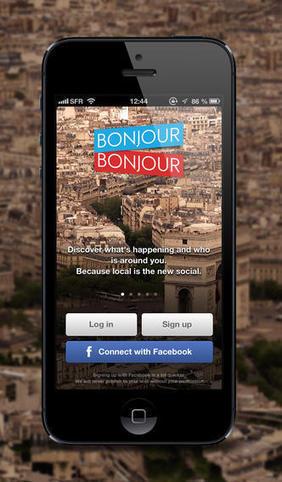 BonjourBonjour per iPhone, il social network per conoscere persone ... - iPhonari | Marketing e social media | Scoop.it
