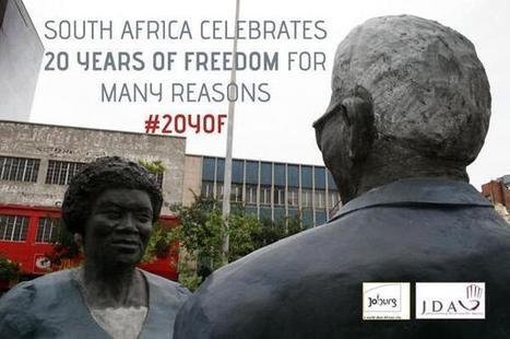 Celebrating #20YoF - Streetart | Joburg Photos | Scoop.it