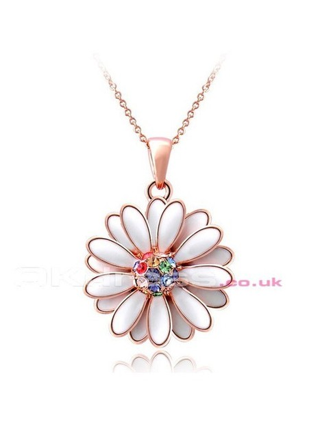 Daisy Crystal Necklaces - by OKDress UK | Fashion & Beautiful Dresses | Scoop.it